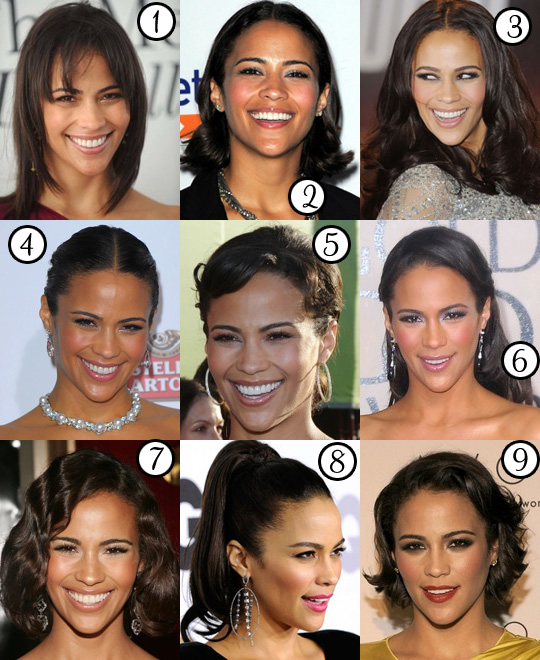 Paula Patton's Best Hair?