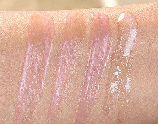 Bobbi Brown Brightening Nudes Swatches