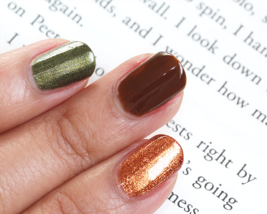 China Glaze Capitol Colours swatches