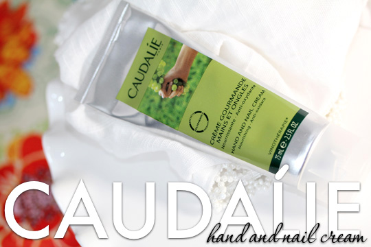 My Dry Claws Crave Caudalie Hand and Nail Cream
