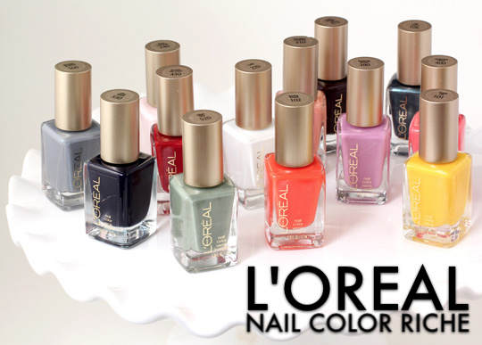 These New L'Oreal Spring Nail Colors Make It Hip to Be Riche ...