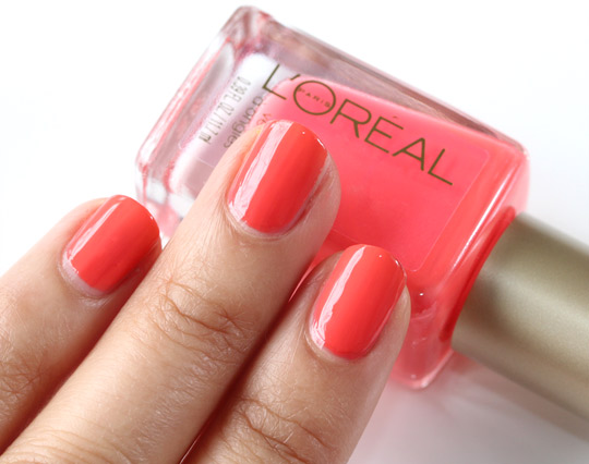 loreal tangerine dream swatch 400