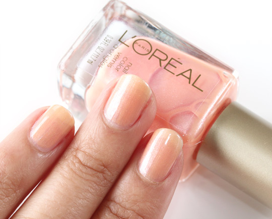 loreal versailles romance swatch 310
