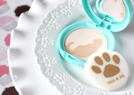 paul & joe kitten collection matte pressed powder