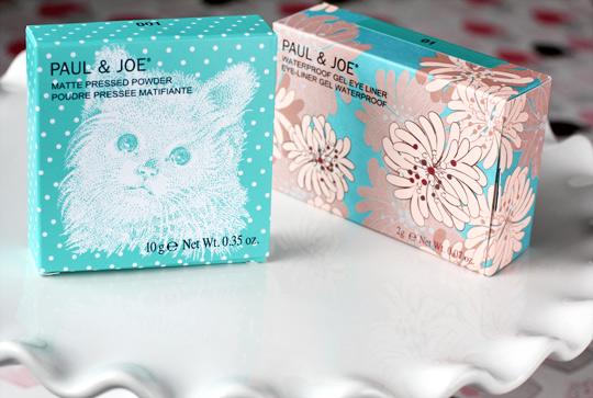 paul joe matte pressed powder waterproof boxes
