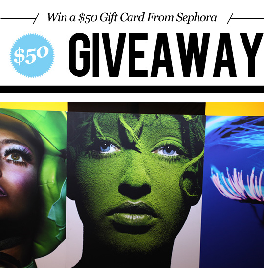 Win an eGift Card in Today's Sephora Giveaway