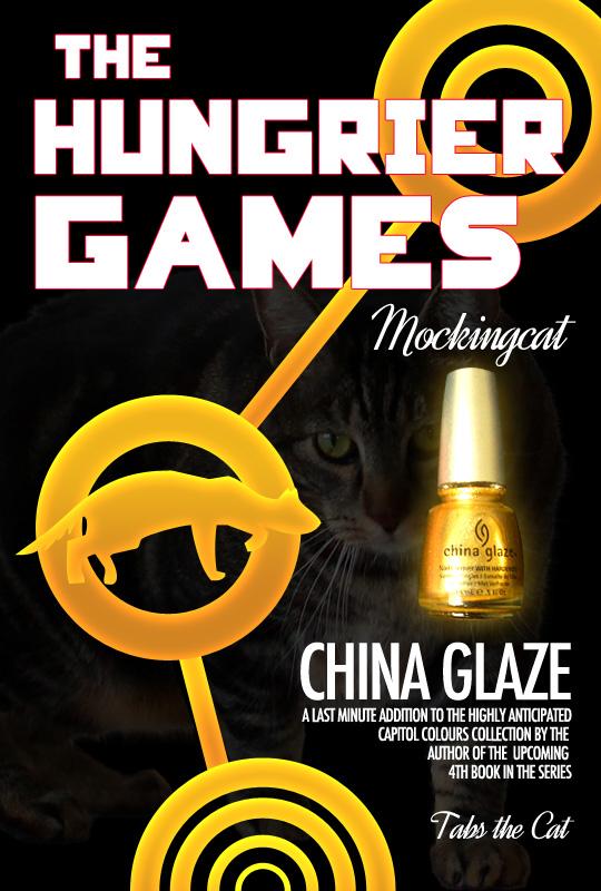 Tabs for China Glaze Mockingcat