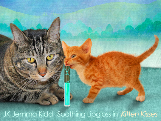 Tabs for JK Jemma Kidd Soothing Lipgloss in Kitten Kisses