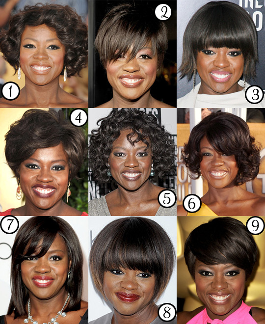 Viola Davis: Her Best Hair?