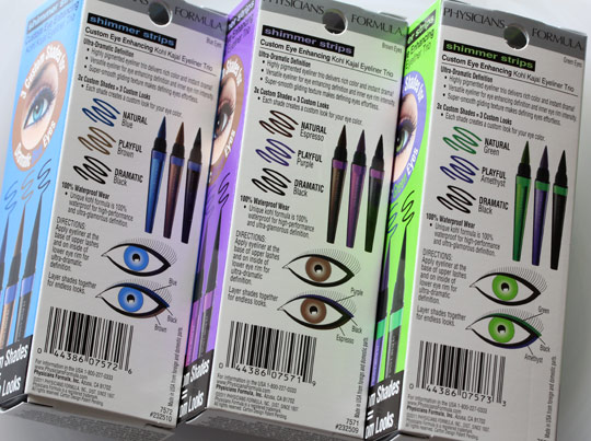 Physicians Formula Custom Eye Enhancing Kohl Kajal Eyeliner Trio 2