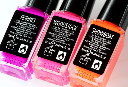 Urban decay summer 2012 nail kit fishnet woodstock showboat back