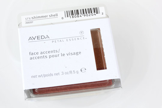 aveda sea blossoms petal essence face accent box