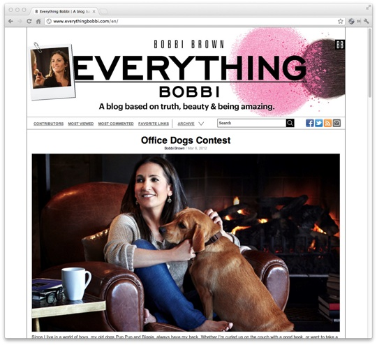 Everything Bobbi: Bobbi Brown Blog