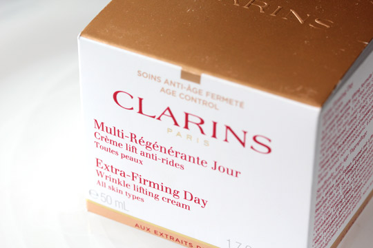 clarins extra firming day cream box
