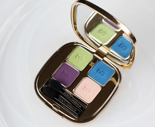 dolce gabbana bouquet collection eyeshadow quad