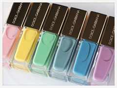 Dolce & Gabbana Bouquet Collection Nail Lacquers