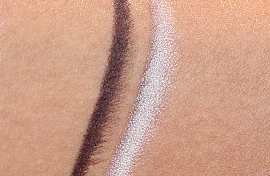 estee lauder white sands molten lava swatches