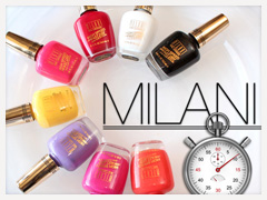 Milani Fast Dry Nail Lacquers