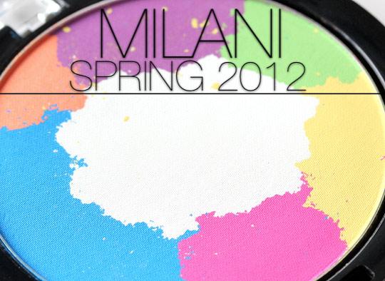 milani spring 2012