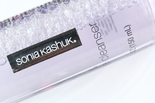 sonia kashuk brush sponge cleanser