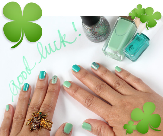 My Lucky St. Patrick's Day Nails
