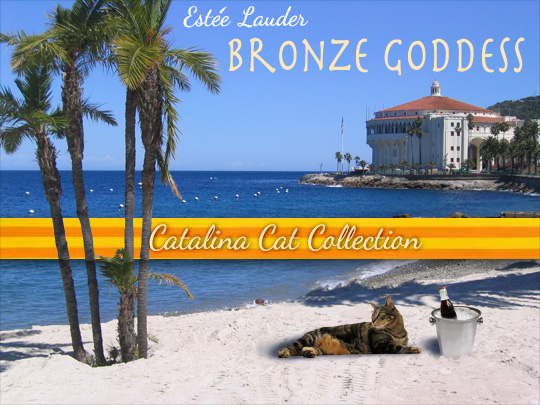 Tabs for Estee Lauder Bronze Goddess Catalina Collection