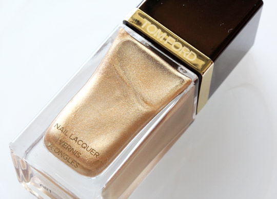 tom ford gold haze nail lacquer