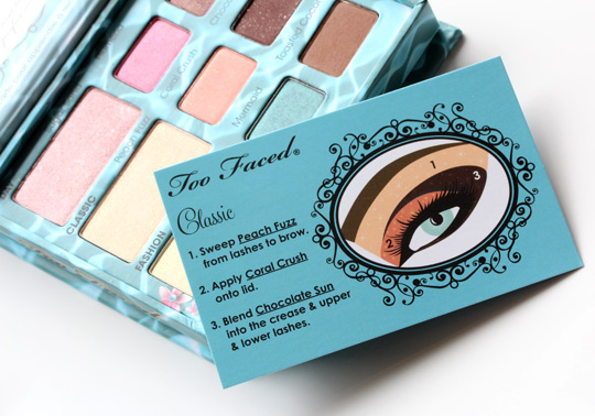 too faced summer eye