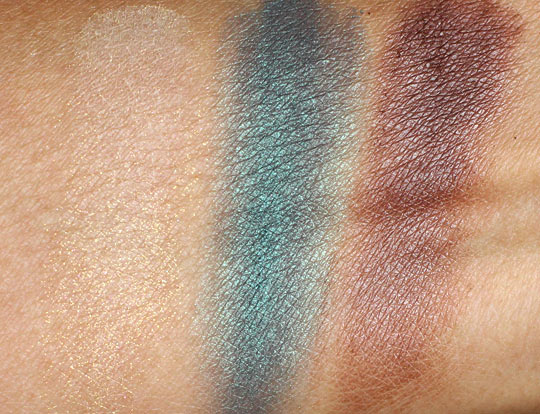 too faced summer eye swatches