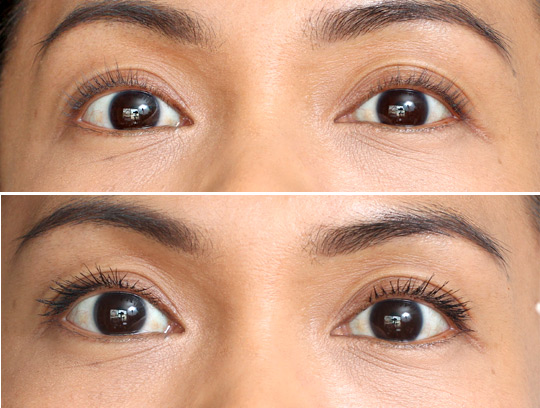 urban decay big fatty mascara before and after