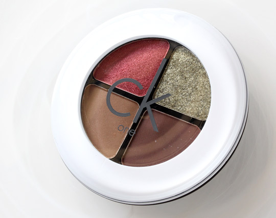 CK One Color Heat Eyeshadow Quad 1