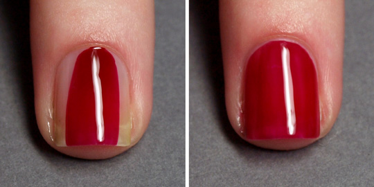 Salon perfect manicure: step 4