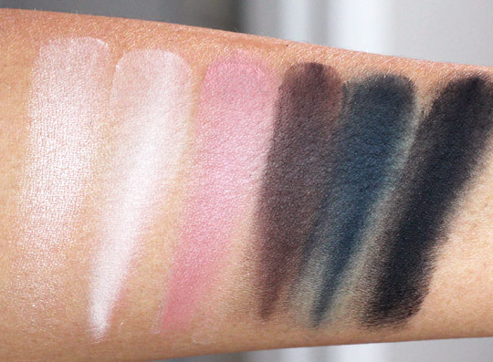 hourglass neo classic palette swatches
