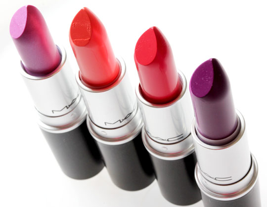 mac reel sexy lipsticks