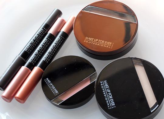 make up for ever aqua shadows