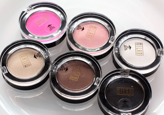 milani powder eyeshadows 1