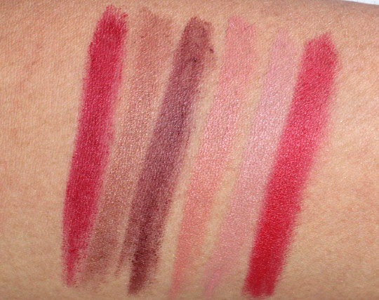 milani color perfect lipstick swatches