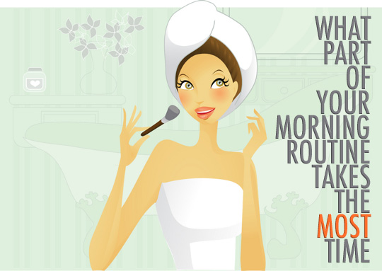 Your morning makeup routine?