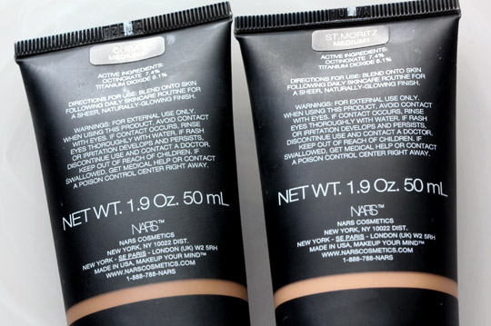NARS Packed Pure Radiant Tinted Moisturizer SPF30/PA+++ With Pigment to Spare