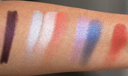 nars summer 2012 swatches