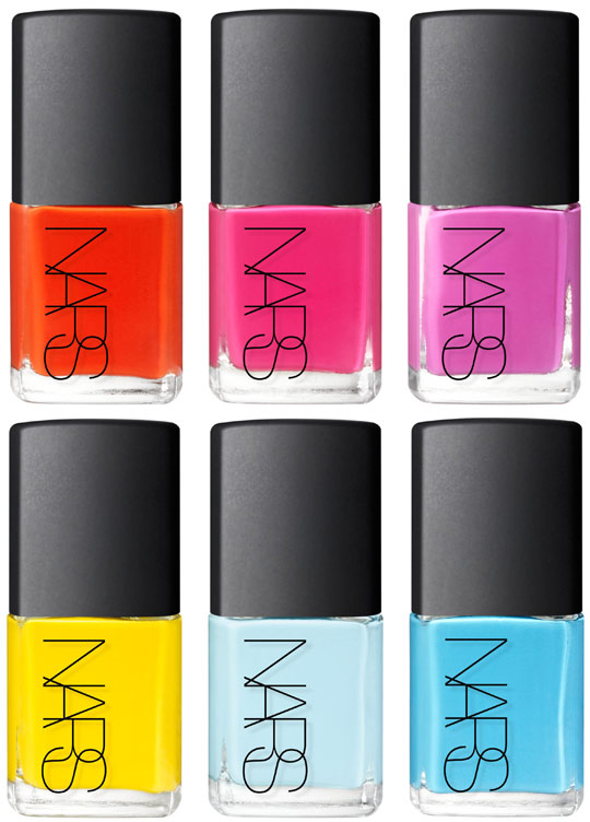 thankoon for nars nail collection