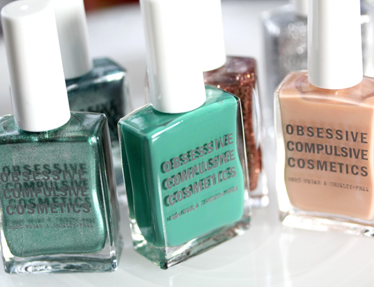 Obsessive Compulsive Cosmetics The Garden Collection