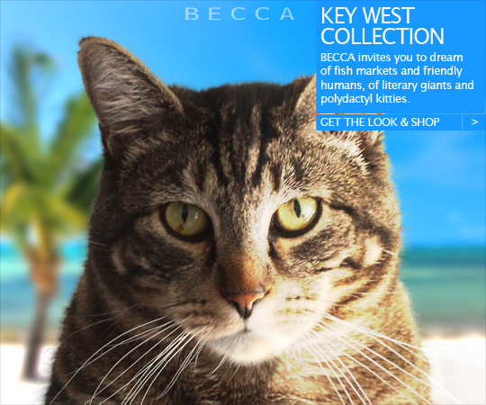 Tabs for the Becca Key West Collection