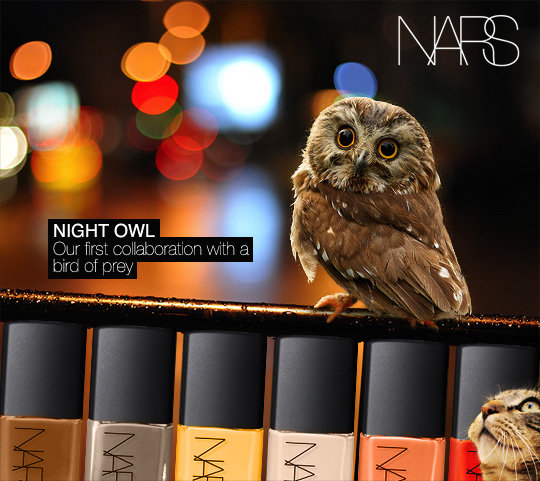 Tabs for NARS Night Owl