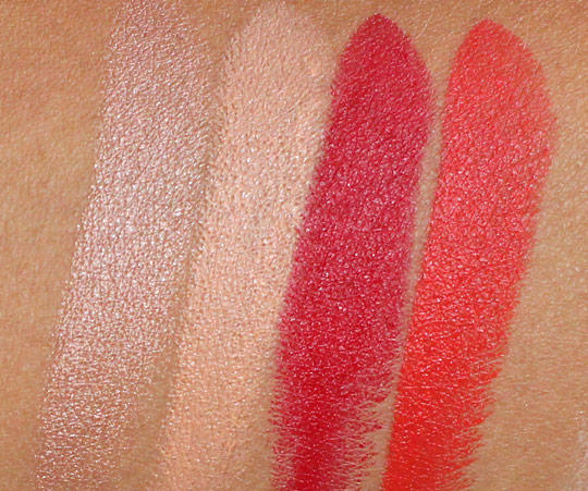 MAC hey sailor lipstick swatches