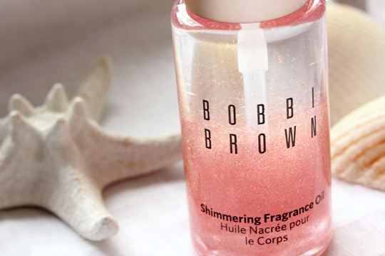 bobbi brown miami collection shimmering fragrance oil