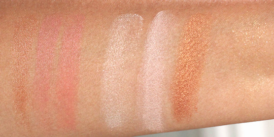bobbi brown miami collection swatches