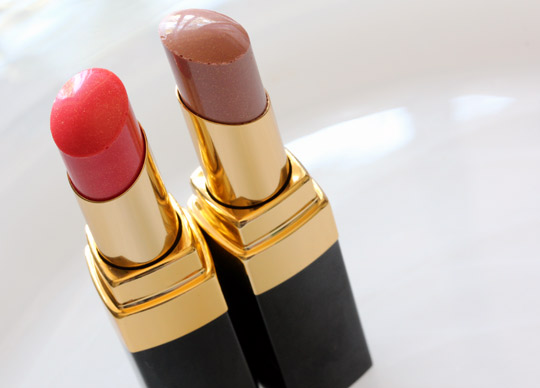 Chanel Rouge Coco Shine in Empreinte: A Magical Medley of Pinkish Beige