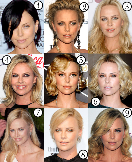 Charlize Theron: Her Best Hair-