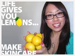 DIY Skincare With Lemon